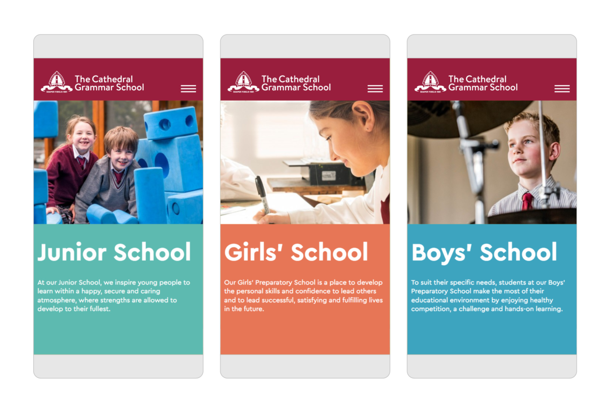 Cathedral Grammar Brand Images 2020 13